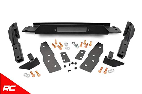 Rough Country Winch Mounting Plate Compatible w/ 1999-2004 Jeep Grand Cherokee WJ Frame Mount Bracket 1064