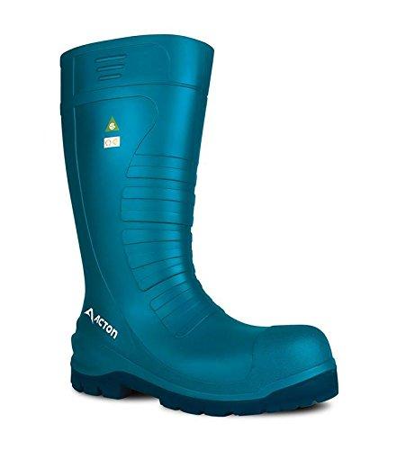 Acton All-Terrain Men Work Boots, Blue, Size 11