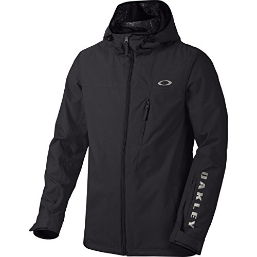 (Oakley Men's Cresent BZS Jacket, X-Large, Jet Black)