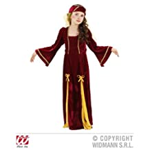 MEDIEVAL PRINCESS 110cm/116cm (dress headpiece with veil)
