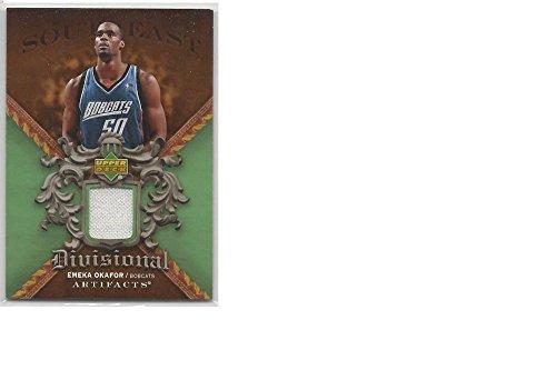 - Basketball NBA 2007 08 Upper Deck Artifacts Divisonal #DA-EO Emeka Okafor NM MEM