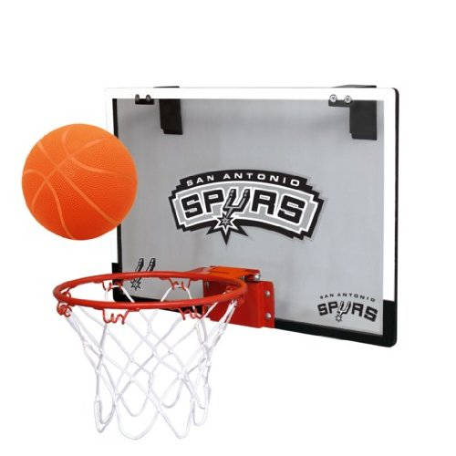 fan products of NBA San Antonio Spurs Game On Indoor Basketball Hoop & Ball Set