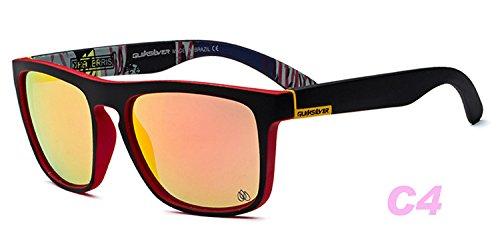 Gafas Nueva Moda silver De Xue Sol Polarizante De Hembra Gafas Gafas Personalidad Película zhenghao Sol De De Ronda De Color Water Azul Sol w6O6g5Cxq