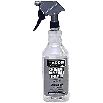 Harris 100% Chemically Resistant Professional Spray Bottles, 32oz (1-Pack)