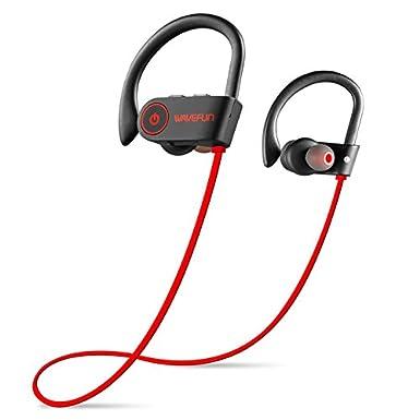 Colgar en la oreja deporte Auriculares estéreo inalámbrico Bluetooth Headest dual-in-ear graves