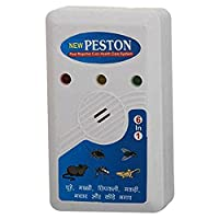 RETAILSHOPPING Effective on Mice, Bugs, Lizards, Spiders, Mosquitoes & Pests Ultrasonic Electro Magnetic Pest Repellers (White)