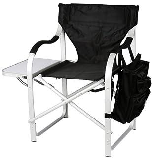 Ming's Mark SL1214 Stylish Camping Heavy-Duty Director's Chair-Black (B002BFTVI4) | Amazon price tracker / tracking, Amazon price history charts, Amazon price watches, Amazon price drop alerts