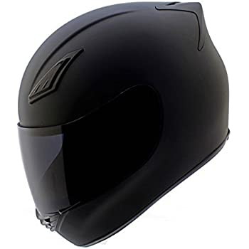 Full Motorcycle Helmet >> Amazon Com Duke Helmets Dk 120 Full Face Motorcycle Helmet Medium
