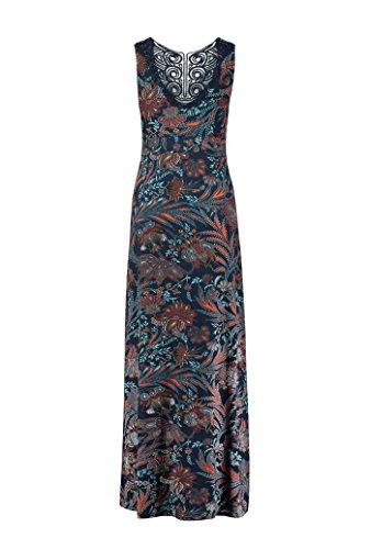 Kleid Damen Jersey Felicia Expresso Navy Maxi qPtt7T