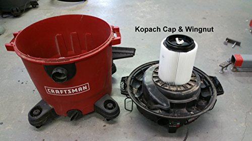 .com: craftsman & ridgid replacement filter 4 pack by kopach ...