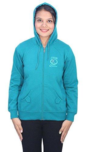 Romano - Sweat-shirt - À logo - Col Chemise Classique - Manches Longues - Femme Bleu Bleu