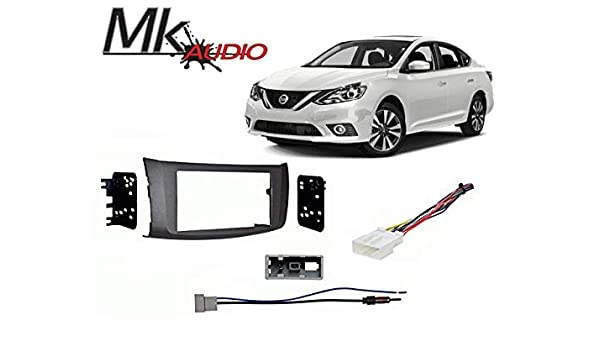 Mk Audio Nissan Sentra 2013-2018 Double DIN Stereo Harness Radio Install on