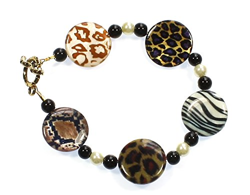 Style-ARThouse Take Me on a Safari! Animal Print Bracelet, 8 Inches by Style-ARThouse