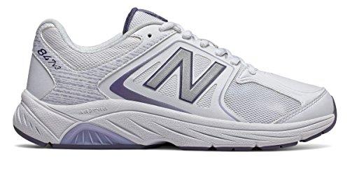 (ニューバランス) New Balance 靴?シューズ レディースウォーキング New Balance 847v3 White with Grey ホワイト グレー US 10.5 (27.5cm)