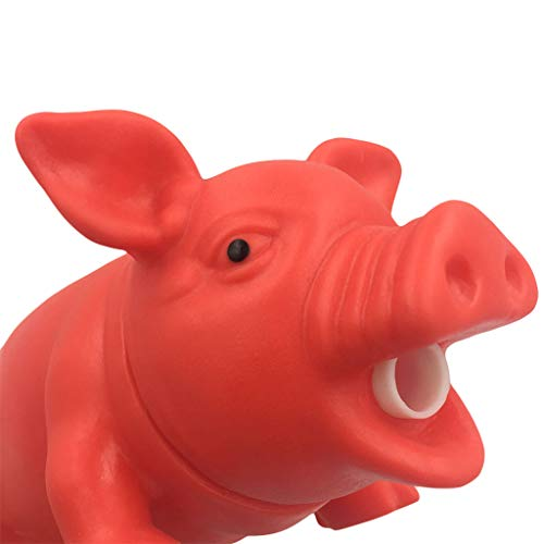 (Firespit Kids Cute Cartoon Animal Screaming Pig Squeaky Rubber Pig Toy Doll Relax Decompression Toy Squeeze kneading Deformation Soft Realistic Toy Gift Boys Girls Interactive Toys,Fashion Clothes)