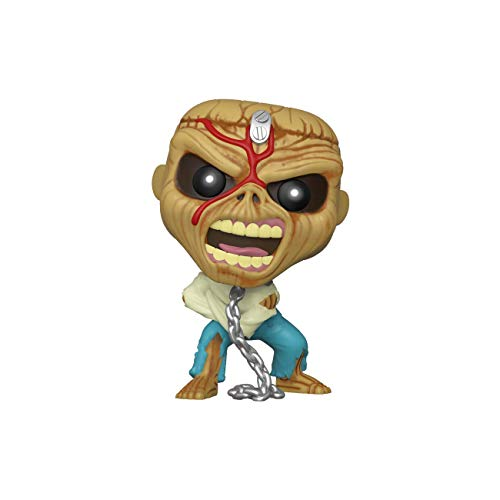 Funko- Pop Rocks Iron Maiden-Piece of Mind (Skeleton Eddie) Collectible Toy, Multicolor (45983)