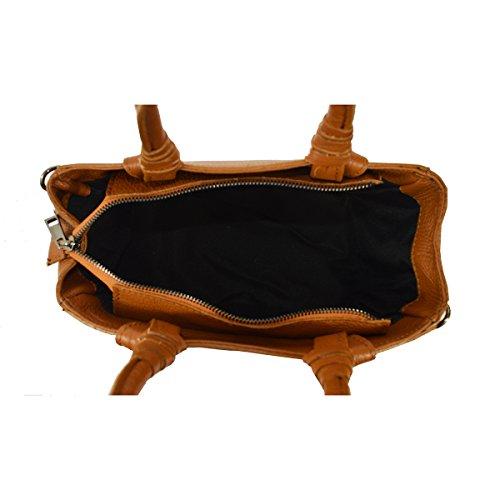La Cinturón Tutto Pequeño 24x18x14 Cm En Italia De Hecha Cuero Chicca Moda Con Hombro Bolso Embrague Genuino Ctm Mujer Mano wadXnq0