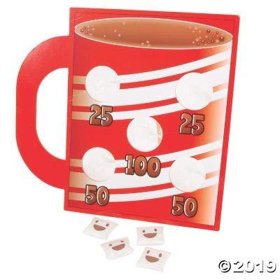 Fun Express Marshmallow Bean Bag TOSS Game - Toys - 25 Pieces: Toys & Games