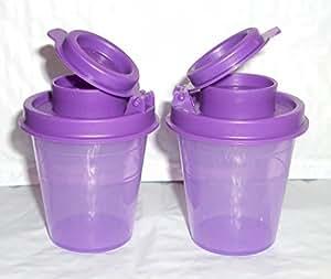 Tupperware Midget Salt & Pepper Shakers