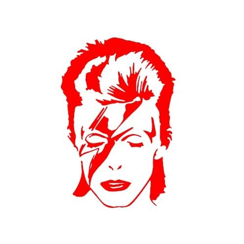 VéloRougeautres Voiture Pour Sticker Bowie Van David Couleurs PwkXZOuTil