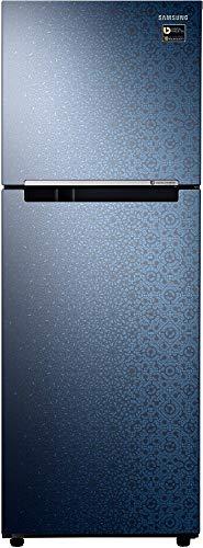 Samsung 234 L 2 Star Inverter Frost Free Double Door Refrigerator  RT28N3022MU/HL, Ombre Blue