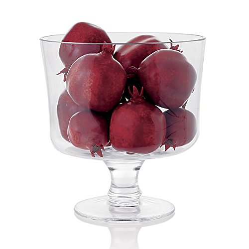 Attractive Trifle Bowl, Footed Glass Centerpiece, Trifle Cake Fruit Dessert Dish by Le'raze (Image #5)