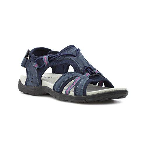 Blu Walk Womens Sportivo Sandalo Navy Cushion P8qxFXw4