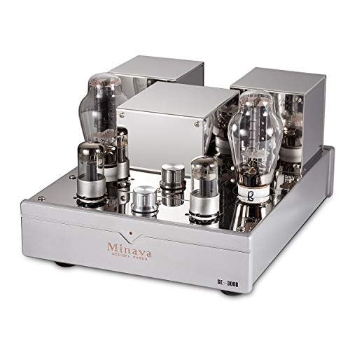 Nobsound 300B 6N8P Integrated Vacuum Tube Amplifier HiFi Stereo Class A Single-Ended Audio Amp