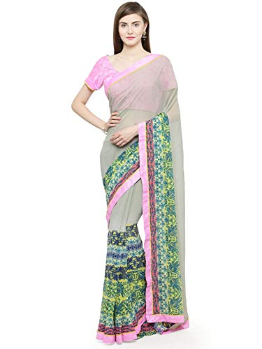 Georgette Shaily multicoloured Handicrfats Women's Export dhadkan24004shilpassr01 Retails Saree Indian CAXq4gwn1