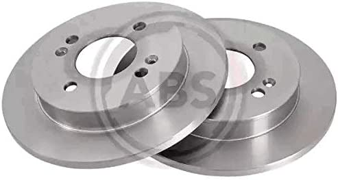 Kit 4 pastiglie freno posteriori ECP Kit 2 dischi freno posteriori Ecommerceparts 9145375044424 Abs