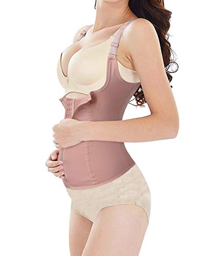 (Maternity Support Belt Postpartum Waist Trainer Abdominal Back Support Belly Band Shapewear Girdles for Hourglass Body Recovery (Beige Maternity Band,)
