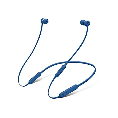 Beats BeatsX Bluetooth Wireless In Ear Headphones with Rubber Carrying Pouch in Blue by Beat
