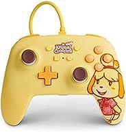 Powera Enhanced Wired Controller Para Nintendo Switch - Animal Crossing. Isabelle, Nintendo Switch Lite, Gamep