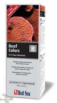 Red Sea Fish Pharm ARE22053 Reef Colors Potassium Supplement-B for Aquarium, 500ml