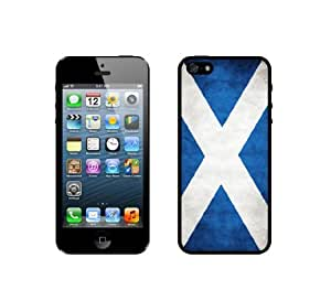 Flag of Scotland Grunge - Protective Designer BLACK Case - Fits Apple iphone 6 plus