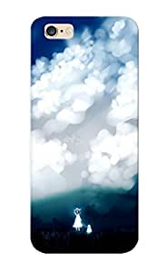 C7d66724248 Clouds Landscapes Nature Trees Dress Forests Birds Grass Dogs Outdoors Protective Case Cover Skin/iphone 6 plus Case Cover Appearance