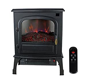 Amazon Com Warm Living 1500w Electric Infrared Deluxe