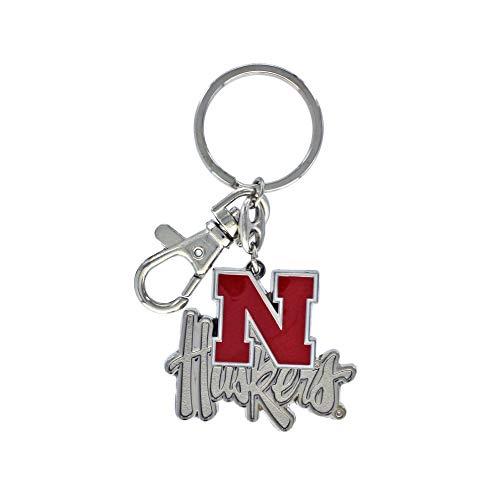(aminco NCAA Nebraska Cornhuskers Heavyweight Keychain)