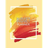 Budget Planner: Budget Journal - Book of Expense Tracker Sheets for Planning and Tracking Household or Personal Finance | Non-Dated for Full Flexibility - Watercolor Stain