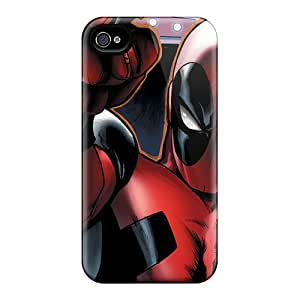 CaseFactory Fashion Protective Deadpool I4 Case Cover For Iphone 4/4s