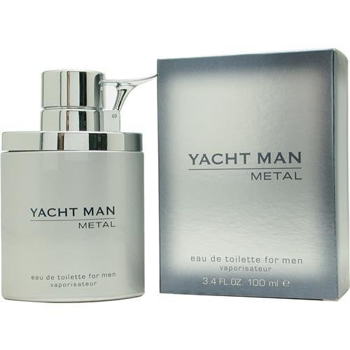 Puige Yacht Man Metal Eau De Toilette Spray, 3.4 Ounce