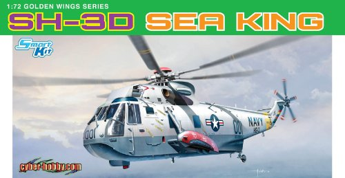 Cyber Hobby Models SH-3D Sea King Helicopter, Scale 1/72