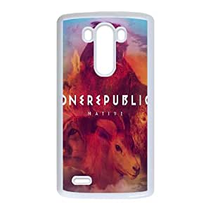 One Republic Native LG G3 Cell Phone Case White phone component RT_209340