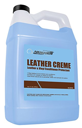 Nanoskin (NA-LCE128) Leather Crème Leather & Vinyl Conditioner/Protectant - 1 Gallon
