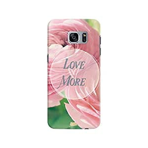 DailyObjects Love More Rose Case For Samsung Galaxy S7 Edge