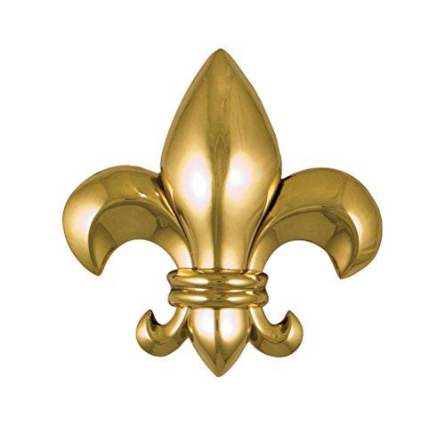 Fleur De Lys Door Knocker - Fleur de Lys Door Knocker - Brass (Standard Size)