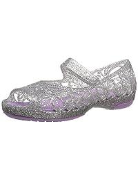 Crocs Kid's Isabella Glitter Jelly Flat