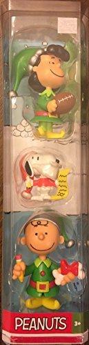 Peanuts 3 Piece Christmas Figurine Set ()