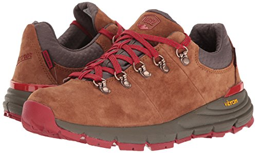 Danner Women's Mountain 600 Low 3'' Hiking Boot, Brown/Red, 7 M US by Danner (Image #6)