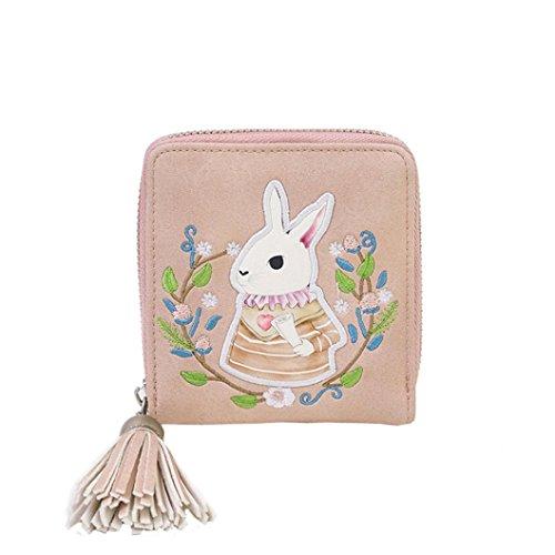 Toggle Bag (Gift ! Sinwo Cute Small Mini Wallet Holder Zip Coin Purse Clutch Handbag Womens Grils (Pink))